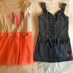 Dresses for toddler girl size 3T/4T